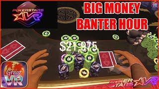 PokerStars VR ⭐️ Pokertainment #3: Banter Hour ♥️♣️♦️♠️
