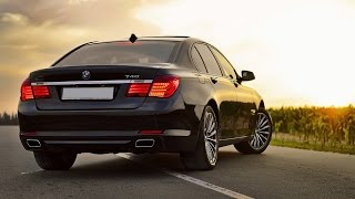 Тест драйв BMW 740 Long