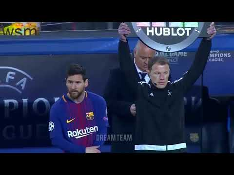 Summary of the match Barcelona and Sporting Lisbon 2 0   Champions League