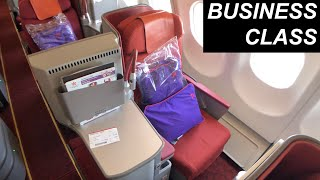 HONG KONG AIRLINES review | HX15 Hong Kong to Gold Coast (BUSINESS CLASS)
