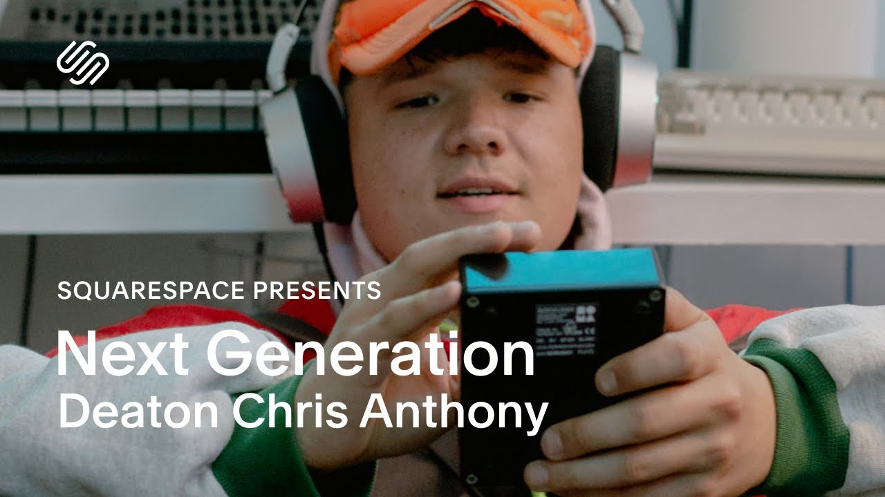 Multidisciplinary Creativity with Deaton Chris Anthony | Squarespace Presents