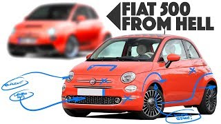 Fiat 500 Re-design - Cinquecento from HELL