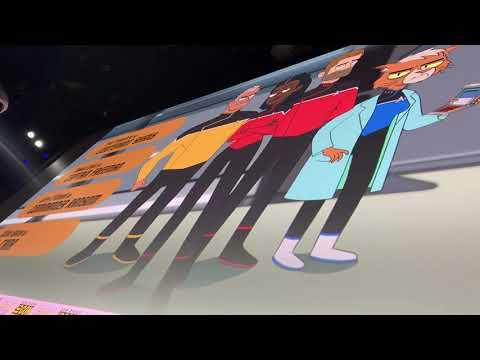 Star Trek Lower Decks Cast Panel At San Diego Comic Con Vlog 2