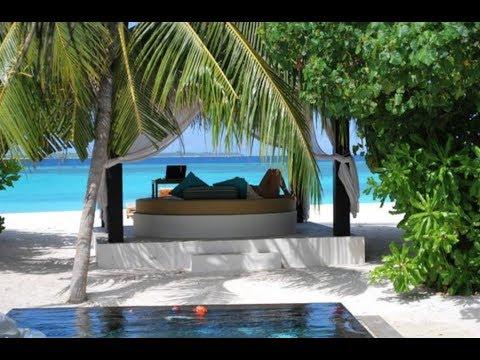 Maldives Luxury Beach Villa at Sun Siyam Iru Fushi