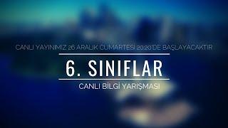 6. SINIFLAR CANLI KAHOOT BİLGİ YARIŞMASI - 6 (TÜRKİYE GENELİ / ÖDÜLLÜ)