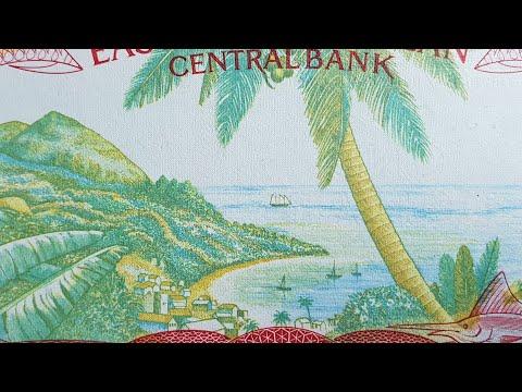 East Caribbean $1 banknote