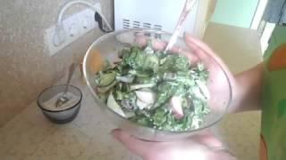 Весенний Салат С Черемшой.  Вкусно И Просто!