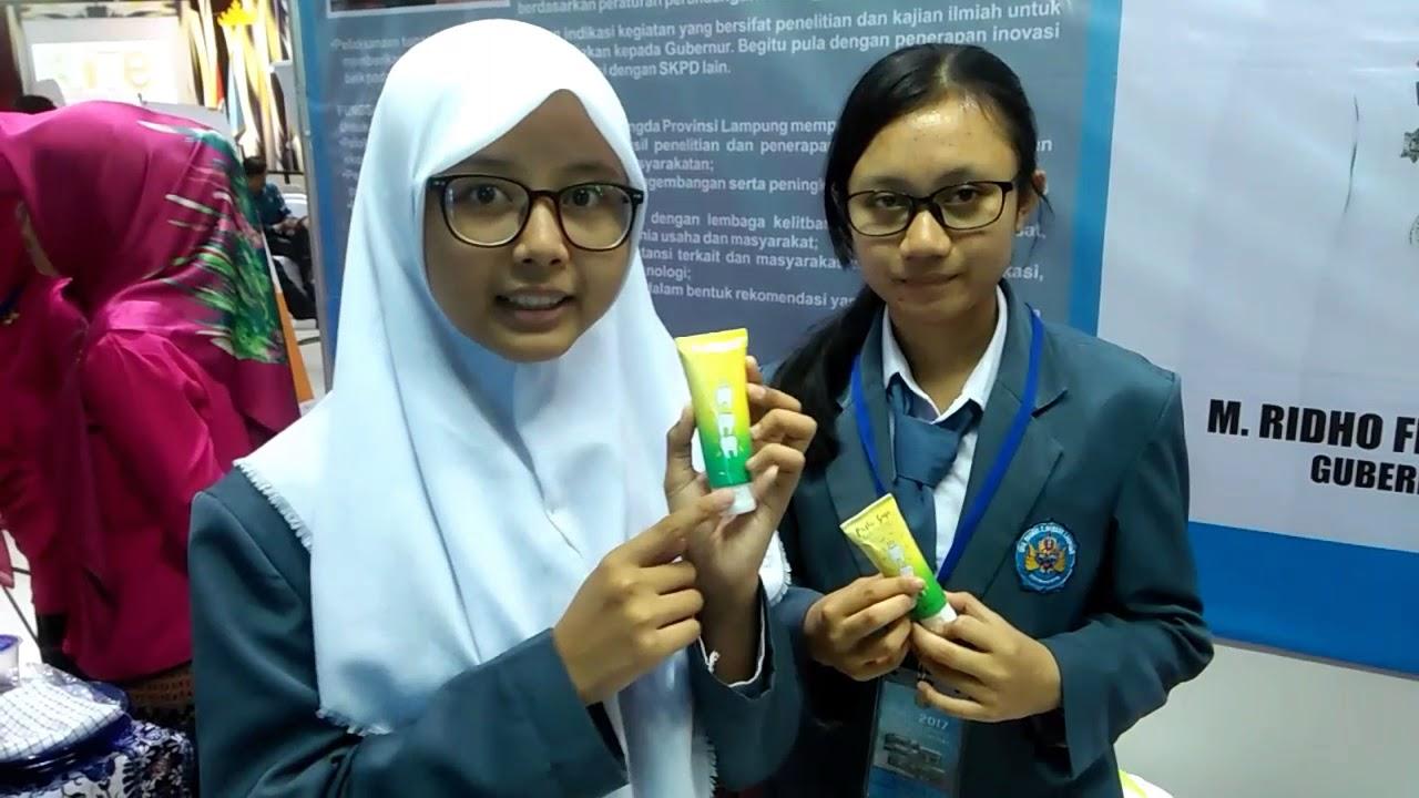 Siswa Sma N2 Bandar Lampung Membuat Pasta Gigi Dari Bahan Kulit