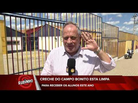 Programa do Rubinho - Creche do Campo Bonito está limpa para alunos| TV Sol Comunidade