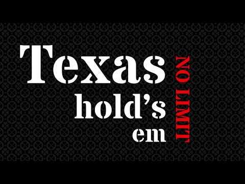 """No Limit Texas Hold's em Poker"" Animation Kinetic"