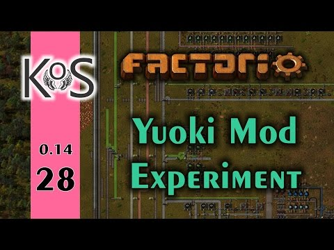 Factorio: Yuoki Mod Experiment Ep 28: Energy Crisis - Let's Play, Gameplay 0.14