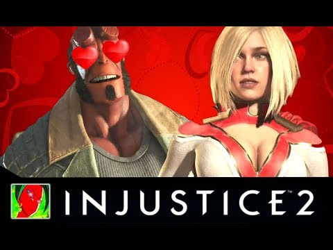 Injustice 2 - All Flirtiest Intro Dialogues [UPDATED]