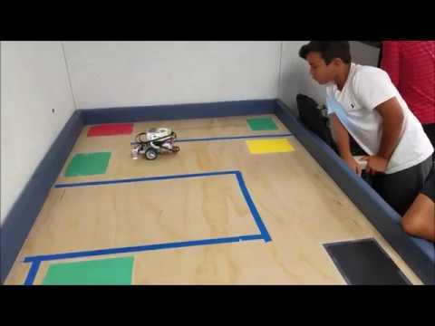"""""""LEGO Mindstorms EV3 The Color Sensor Maze!!!"""" - YouTube"""