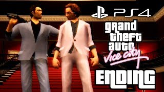Grand Theft Auto Vice City PS4 ENDING - FINAL MISSION - KEEP YOUR FRIENDS CLOSE Walkthrough