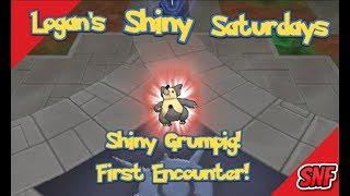Logans Shiny Saturdays EP 2 Grumpig