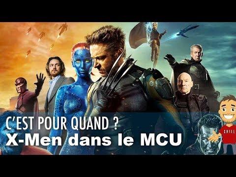 Dans combien de temps les X-Men vont rejoindre le MCU ?