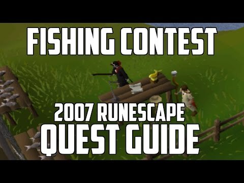 2007 Runescape Quest Guide: Fishing Contest