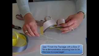 Learn how to make a Triple Ribbon bow! With some practice, you too ...