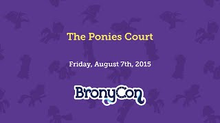 The Ponies Court