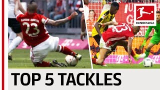 Arturo Vidal - The King's Best Tackles
