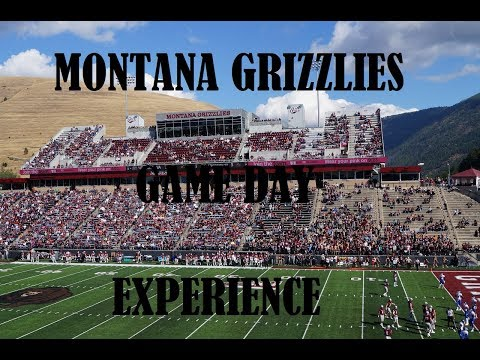 UNIVERSITY OF MONTANA GRIZZLIES~GAME DAY EXPERIENCE