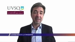 Yvelines | L'UVSQ face à la pandémie