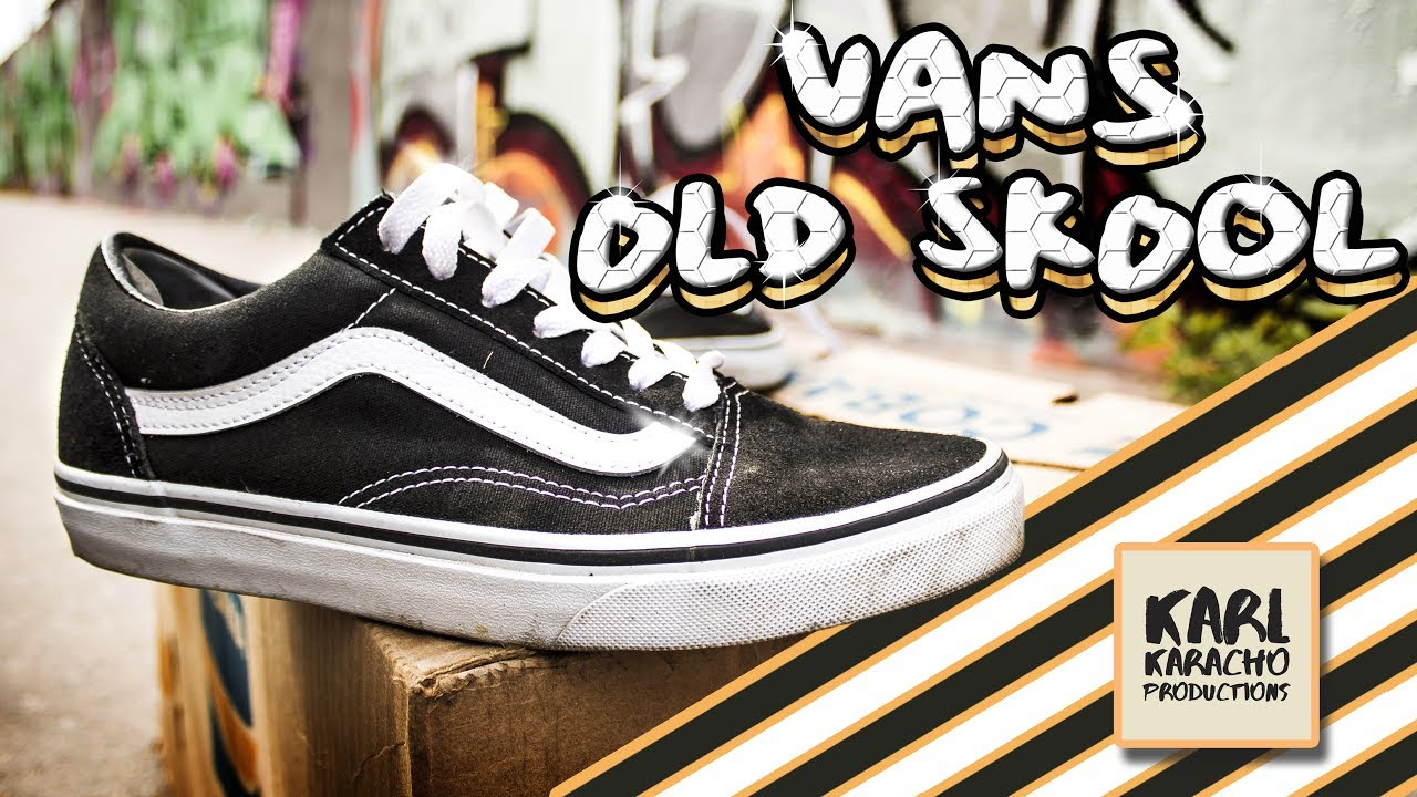 VANS - OLD SKOOL - Black White - Shoes on feet - Music by  Aether - Leavin  On Your Mind 459659eedbbb