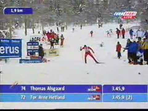Thomas Alsgaard skating