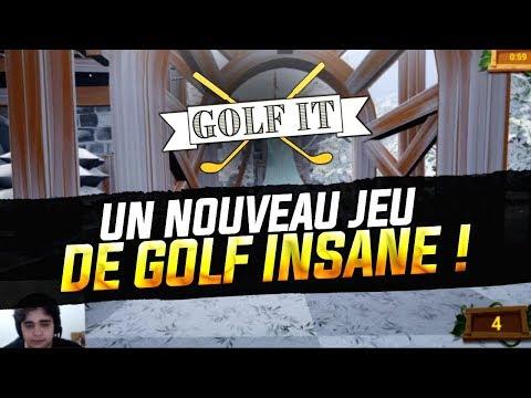 UN NOUVEAU JEU DE GOLF INSANE ! (Golf It)
