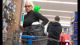 "The Pooter Prank - Farting at Walmart ""YOU REALLY S**T!"""