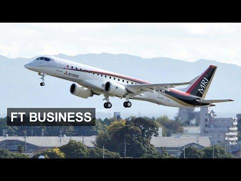Mitsubishi tests new jet I FT Business