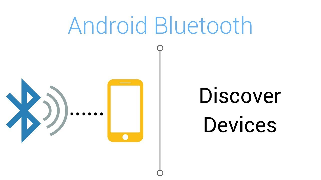 Bluetooth Tutorial - Discover Devices in Android Studio