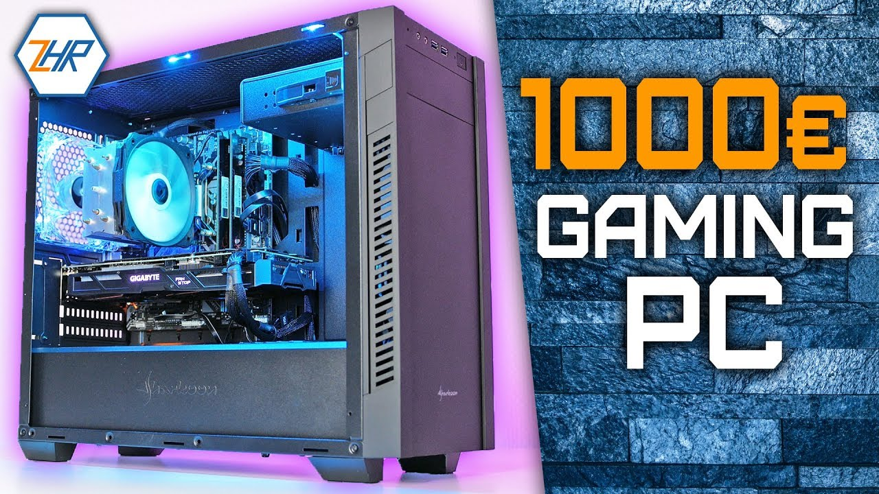 der schnellste 1000 euro gaming pc 2018 im test intel. Black Bedroom Furniture Sets. Home Design Ideas
