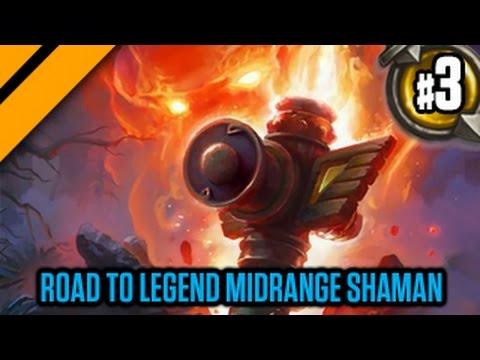 Day[9] HearthStone Decktacular #276 - Road to Legend Midrange Shaman P3
