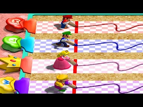 Mario Party 4 - All Minigames