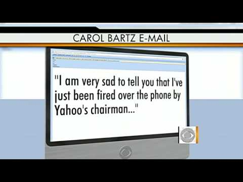The Early Show - Yahoo! dumps CEO Carol Bartz