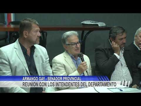 Gay y Benedetto realizaron una reunión para trabajar sobre las necesidades del Departamento