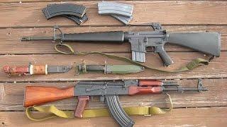 Автоматы АК 47 и М16  Гонки Вооружения Кто Лучше! Дискавери Документальные фильмы