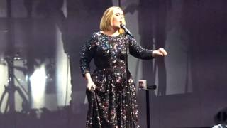 Adele - Water Under the Bridge (Live in Dallas, TX at American Airlines Center November 1, 2016)
