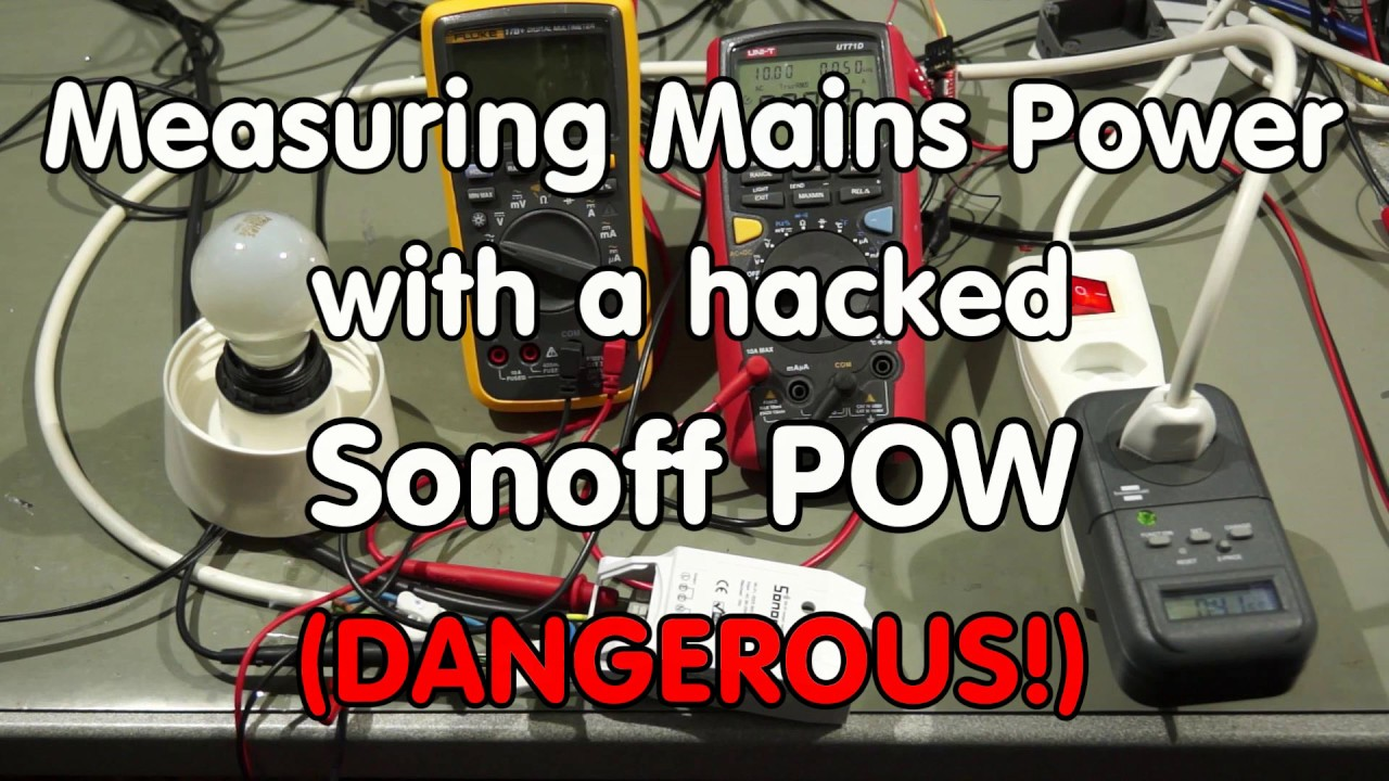 #99 Measuring Power, hacked Sonoff POW, MQTT, Adafruit io and Home  Automation