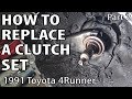 How to Replace a Clutch Set - Part 2