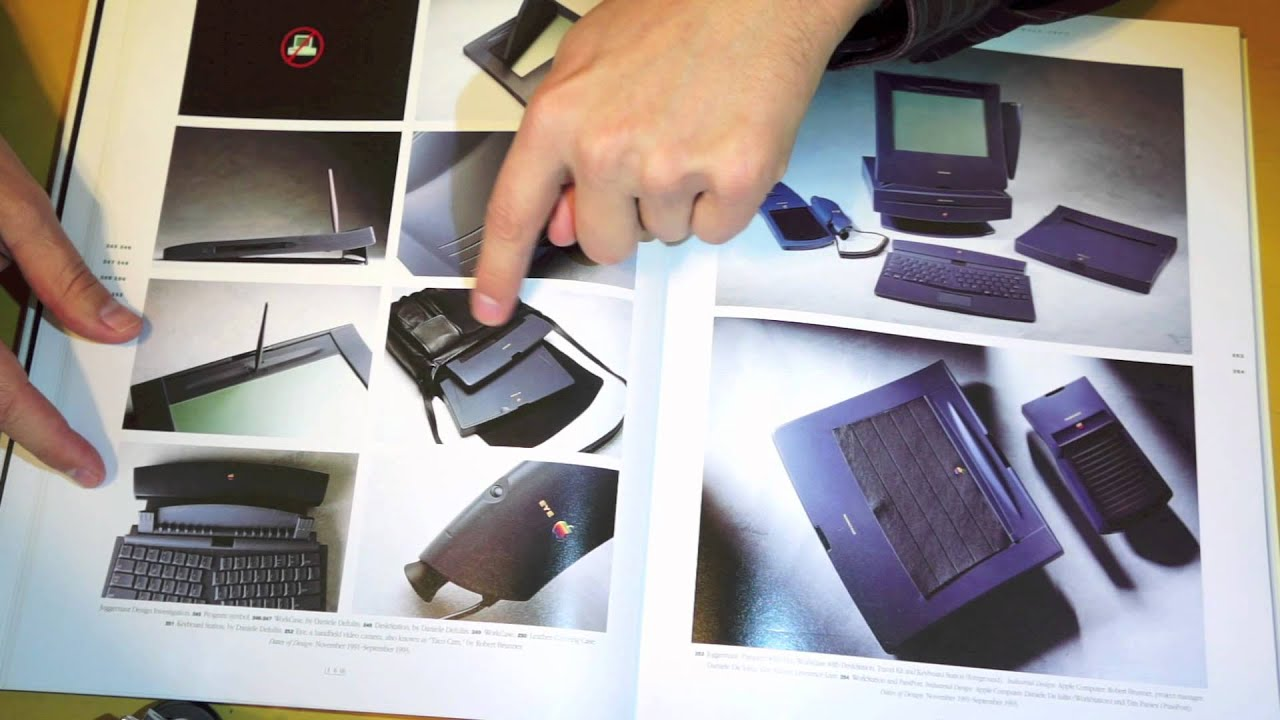 Browsing through an apple industrial design book asmr for Apple design book