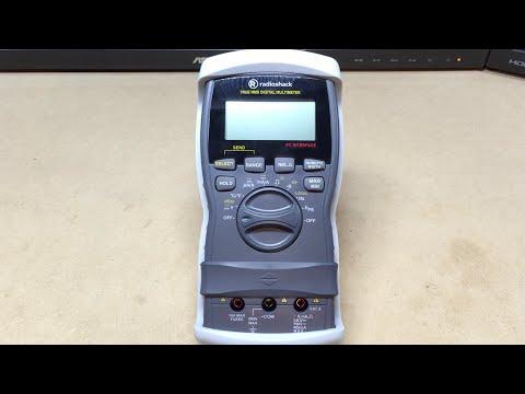 Review - RadioShack True RMS Digital Multimeter w/ Autoranging (they're still open!) #0020