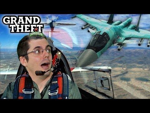 JET FIGHTER THROWDOWN (Grand Theft Smosh)