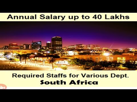 Abroad jobs/South Africa required staff for various categories