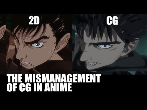 The Mismanagement of CG in Anime