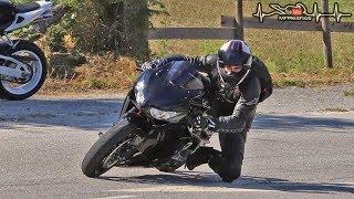 CBR 1000RR VS Twisty Roads | Knee Dragging | SC-Project CRT