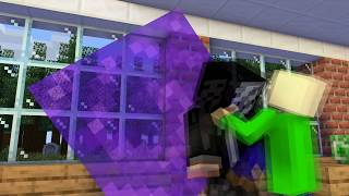 Monster School : SWIMMING CHALLENGE + CRAFTING - Minecraft Animation