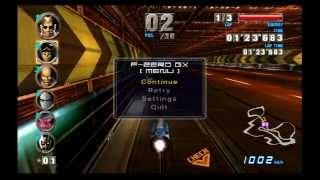 f zero gx speed run master mode with silver rat