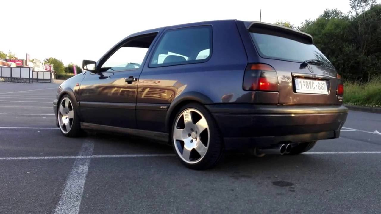 Vw golf 3 vr6 sound youtube for Interieur golf 3 vr6